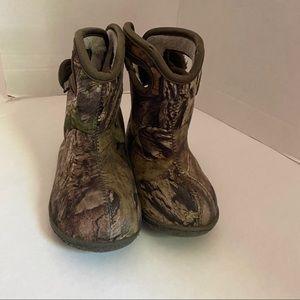 Bogs Camo Waterproof Baby Boots